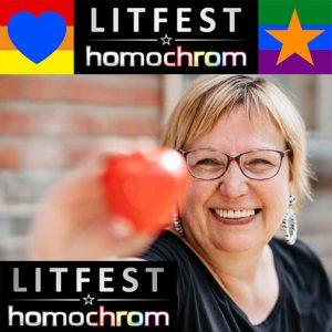 Ankündigung Lesung Litfest Homochrom in Kölner Filmmuseum